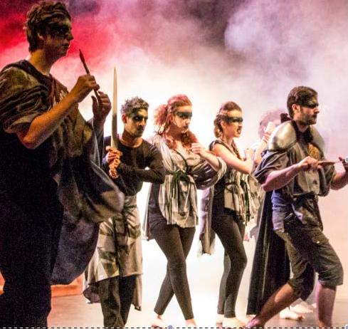 make up show north brook theatre college university artist